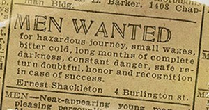 shackleton-job-ad