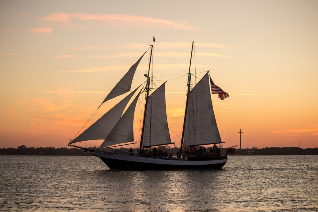 Sailing in St. Augustine