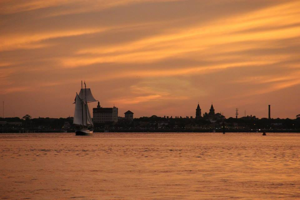 Schooner Freedom sailing into St. Augustine, Florida Photo by Sara Leclaire