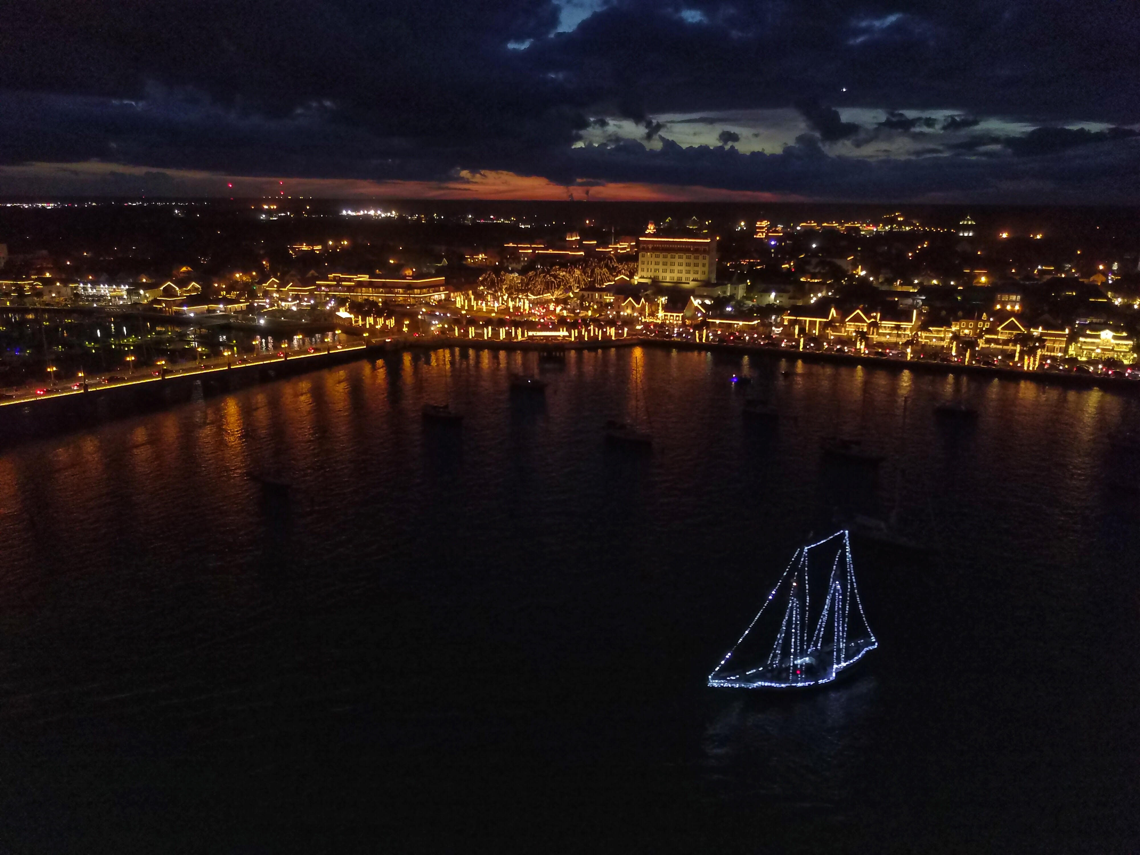 St Augustine Christmas Lights Tour 2021 Nights Of Lights Schooner Freedom Charters